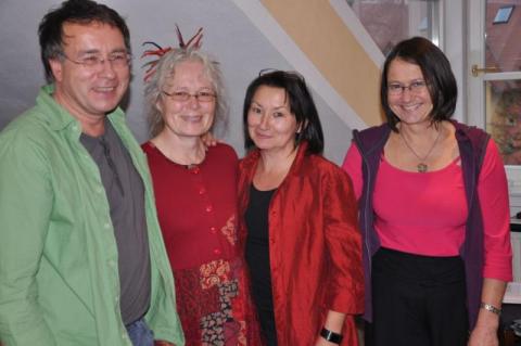 Den Ausbildungsbeirat bilden gemeinsam: Rainer Jakisch, Margarete Pröbstle, Chris Saleski und Claudia Rausch-Michl. Helmut Bauer, der Fünfte im Bunde, ist hier leider nicht im Bild.