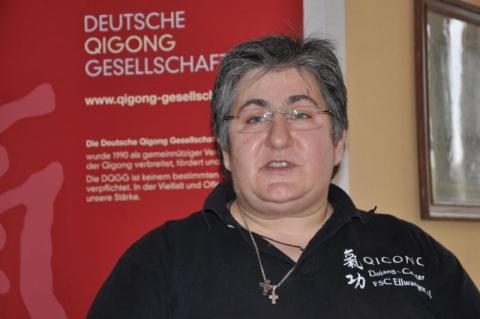 Fotini Papadopulu aus Ellwangen erntete für ihre hervorragende Organisation des Wochenendes von allen Seiten großes Lob.