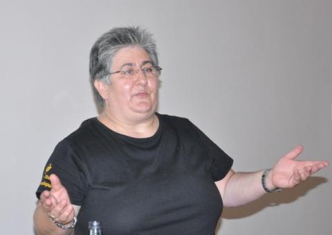 Fotini Papadopulu begrüßte als Organisatorin alle Gäste.