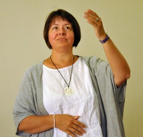 Rosmarie Waniek gehörte ebenfalls zum Vorbereitungsteam.