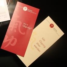 Qigong-Gesellschaft neue Flyer