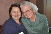 Chris Saleksi und Margarete Pröbstle (rechts) scheiden aus dem Ausbildungsbeirat aus