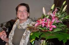 Monika Binder leitet die Geschäftsstelle der DEUTSCHEN QIGONG GESELLSCHAFT  e.V. in Dietenheim
