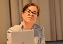 Michaela Molitor hatte die Tagungsleitung inne.