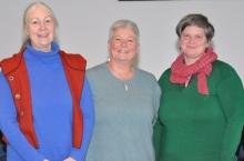 Der Weiterbildungsbeirat besteht aus Susan Batchelor, Angelika Hansen, Christiane Peyer und Susanne Pries (nicht im Bild).