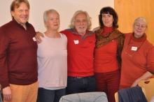 Der Beirat Weiterbildung: Roland u. Gudrun Brandstetter, Dieter Hölle, Mihaela Cordea u. Susan Batchelor.