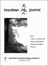 Nachrichten der Deutschen Qigong Gesellschaft 1/1997