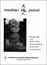 Nachrichten der Deutschen Qigong Gesellschaft 2/1997