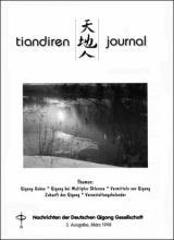 Nachrichten der Deutschen Qigong Gesellschaft 1/1998
