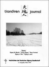 Nachrichten der Deutschen Qigong Gesellschaft 1/1999