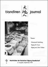 Nachrichten der Deutschen Qigong Gesellschaft 2/1999