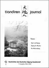 Nachrichten der Deutschen Qigong Gesellschaft 1/2000