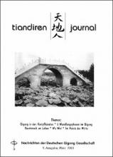 Nachrichten der Deutschen Qigong Gesellschaft 1/2001