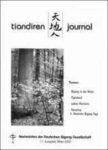 Nachrichten der Deutschen Qigong Gesellschaft 1/2002