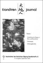 Nachrichten der Deutschen Qigong Gesellschaft 2/2003