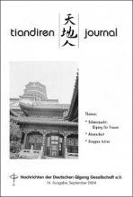Nachrichten der Deutschen Qigong Gesellschaft 2/2004