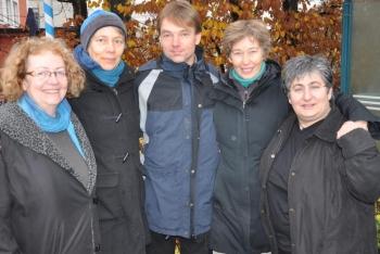 Gruppenbild vom neuen Vorstand