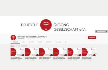 Video Thumbnail Liste des YouTube Kanals der Deutschen Qigong Gesellschaft eV