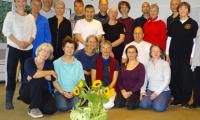 Teilnehmergruppe mit Shen Xijin (Bildquelle: Ute Gleissner)